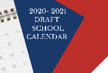 2020-2021 Draft Calendar