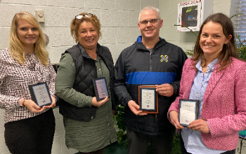 Four Nominated for Outstanding Educator