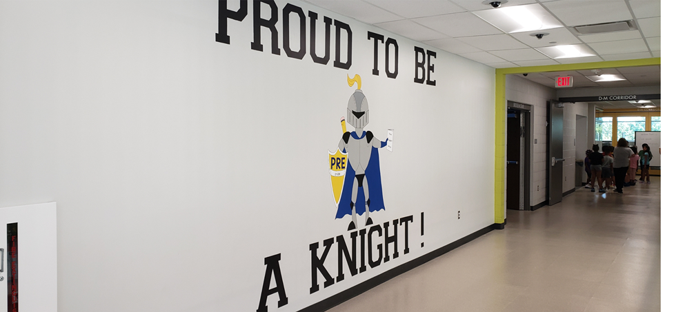 Proud to be a Knight painting