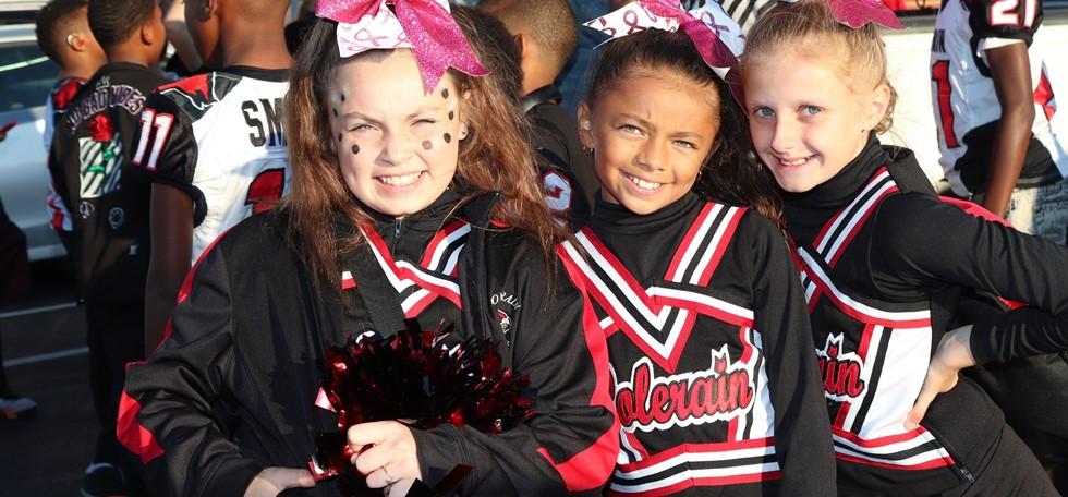 Three Colerain Elementary Cheerleaders