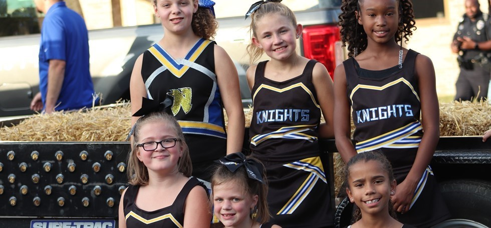 Pleasant Run Elementary Cheerleaders
