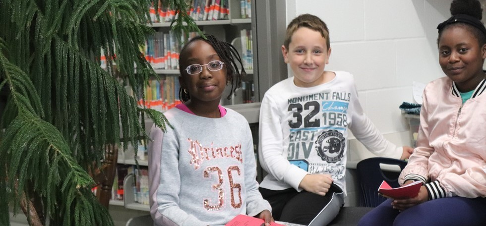 Struble students in their classroom