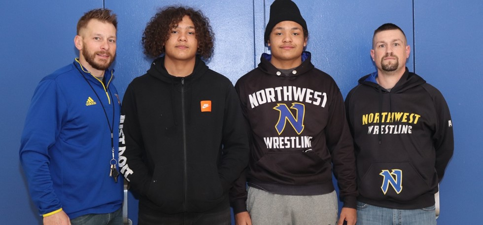 NWHS Wrestling District Qualifiers