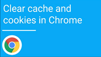 Clearing Your Cache/Cookies